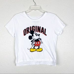 Disney Mickey Mouse Original Graphic Crop Top